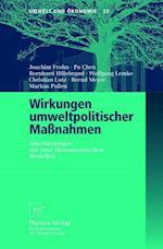 Wirkungen Umweltpolitischer Manahmen af Joachim Frohn, Pu Chen, Bernhard Hillebrand