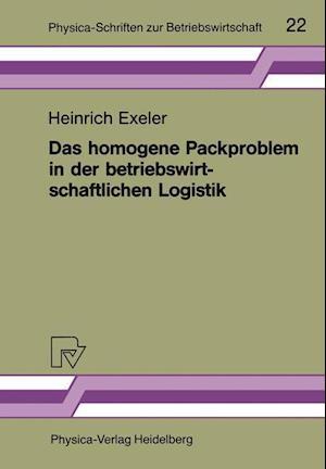Das homogene Packproblem in der betriebswirtschaftlichen Logistik
