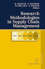 Research Methodologies in Supply Chain Management af Gerald Reiner, Martin Muller