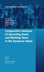 Comparative Analyses of Operating Hours and Working Times in the European Union af Frank Bauer, Gilbert Cette, Mark Smith