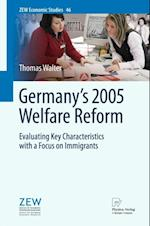 Germany's 2005 Welfare Reform af Thomas Walter