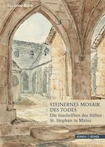 Steinernes Mosaik Des Todes