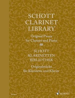 Bog, paperback Schott Clarinet Library / Scott Klarinetten-Bibliothek / Schott Collection Clarinette af Hal Leonard Publishing Corporation