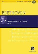 Symphony No. 1 in C Major / C-Dur Op. 21 (Eulenburg Audio+score)