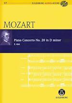 Piano Concerto No. 20 in D Minor / d-Moll (Eulenburg Audio+score)