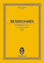 Symphony 4 Op. 90 a Maj Italian