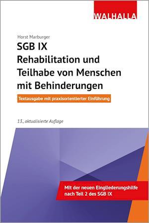 SGB IX - Rehabilitation und Teilhabe von Menschen mit Behinderungen