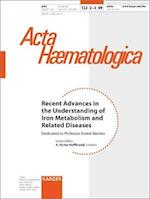 Recent Advances in the Understanding of Iron Metabolism and Related Diseases (nr. 122)
