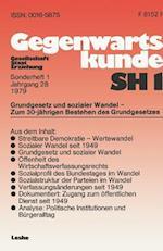 Grundgesetz Und Sozialer Wandel -- Zum 30. Jahrestag Der Verfassung Der Bundesrepublik Deutschland