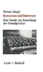 Konsensus Und Interessen af Werner Sorgel