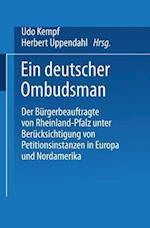 Ein Deutscher Ombudsman