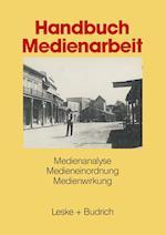 Handbuch Medienarbeit af Bundeszentrale Fur Politische Bildung, Ulrich Allwardt, Bundeszentrale Fur Politische Bildung