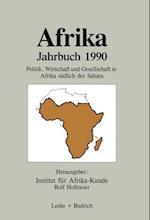 Afrika Jahrbuch 1990 af Rolf Hofmeier, Institut Fur Afrika-Kunde, Institut Fur Afrika-Kunde