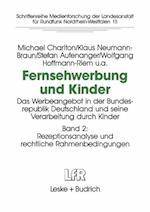 Fernsehwerbung Und Kinder af Michael Charlton, Klaus Neumann-Braun, Stefan Aufenanger
