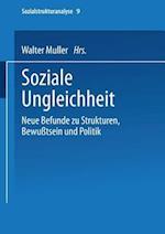 Soziale Ungleichheit (Sozialstrukturanalyse, nr. 9)