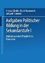Aufgaben Politischer Bildung in Der Sekundarstufe I af Detlef Oesterreich, Luitgard Trommer, Christa Handle
