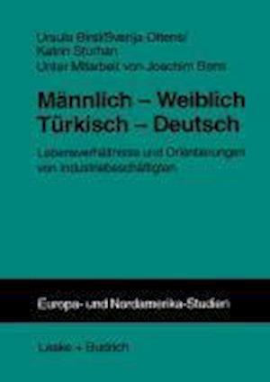 Männlich -- Weiblich Türkisch -- Deutsch