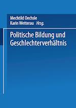 Politische Bildung Und Geschlechterverhältnis