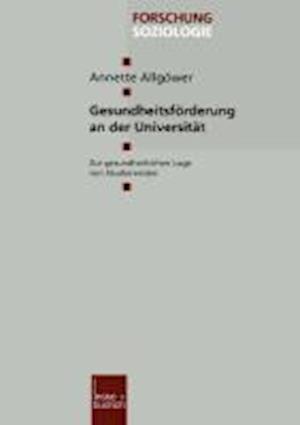 Gesundheitsförderung an Der Universität
