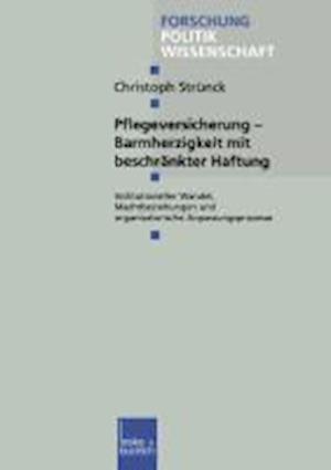Bog, paperback Pflegeversicherung -- Barmherzigkeit Mit Beschrankter Haftung af Christoph Strunck
