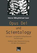 Opus Dei Und Scientology af Werner Billing