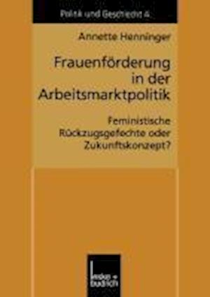Frauenförderung in Der Arbeitsmarktpolitik