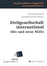 Zivilgesellschaft International Alte Und Neue Ngos