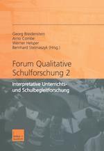 Forum Qualitative Schulforschung 2