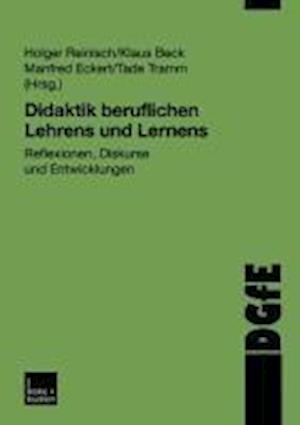 Didaktik Beruflichen Lehrens Und Lernens