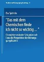 Das Mit Dem Chemischen Finde Ich Nicht So Wichtig af Eva Sporlein