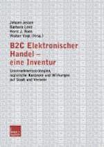 B2c Elektronischer Handel -- Eine Inventur