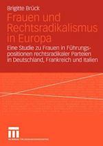Frauen und Rechtsradikalismus in Europa af Brigitte Bruck