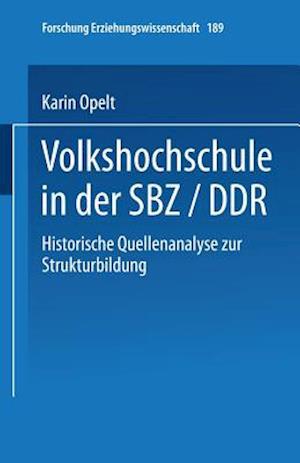 Volkshochschule in Der Sbz/Ddr
