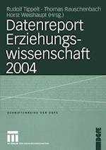 Datenreport Erziehungswissenschaft 2004 af Rudolf Tippelt