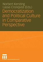 Democratization and Political Culture in Comparative Perspective af Norbert Kersting