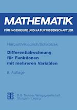 Differentialrechnung Fur Funktionen Mit Mehreren Variablen af Klaus Harbarth, Winfried Schirotzek, Thomas Riedrich