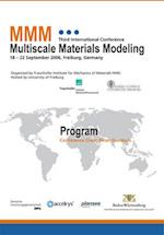 Proceedings of the Third International Conference Multiscale Materials Modeling.