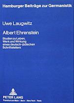 Albert Ehrenstein (Hamburger Beitraege Zur Germanistik, nr. 5)