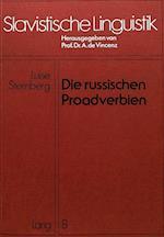 Die Russischen Proadverbien (Slavistische Linguistik, nr. 8)