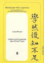 Leben Und Legende Des Ch'en T'Uan (Weurzburger Sino Japonica, nr. 9)