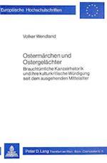 Ostermaerchen Und Ostergelaechter (Europaeische Hochschulschriften European University Studie, nr. 306)
