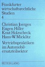 Vertriebspraktiken Im Automobilersatzsektor