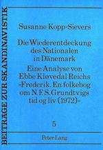 Die Wiederentdeckung Des Nationalen in Daenemark. (European University Studies: Series XXIII Theology, nr. 5)