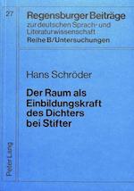 Der Raum ALS Einbildungskraft Des Dichters Bei Stifter