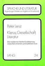 Klerus, Gesellschaft, Literatur af Peter Lenz
