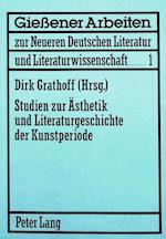 Studien Zur Aesthetik Und Literaturgeschichte Der Kunstperiode