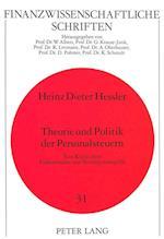 Theorie Und Politik Der Personalsteuern af Heinz Dieter Hessler