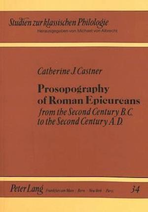 Prosopography of Roman Epicureans