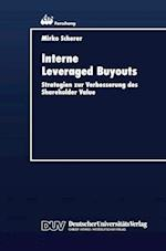 Interne Leveraged Buyouts (Ebs Forschung Schriftenreihe Der European Business School S, nr. 16)