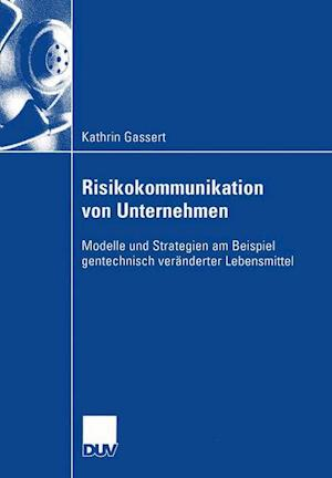 Risikokommunikation von Unternehmen